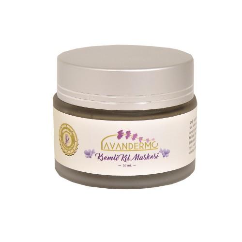 Aromaterapi Kremli Kil maskesi  50 ml.